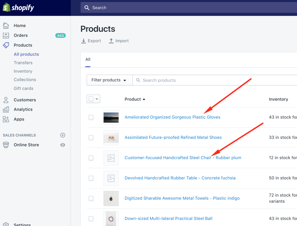 Fix Shopify headings using the rich text editor product titles