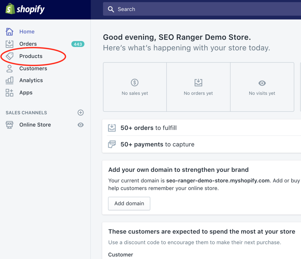 Fix Shopify headings using the rich text editor products