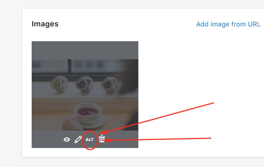 Shopify fix image alt text image grey hover alt