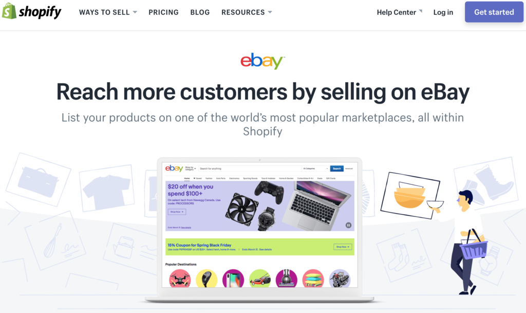 Shopify ebay channel getting started