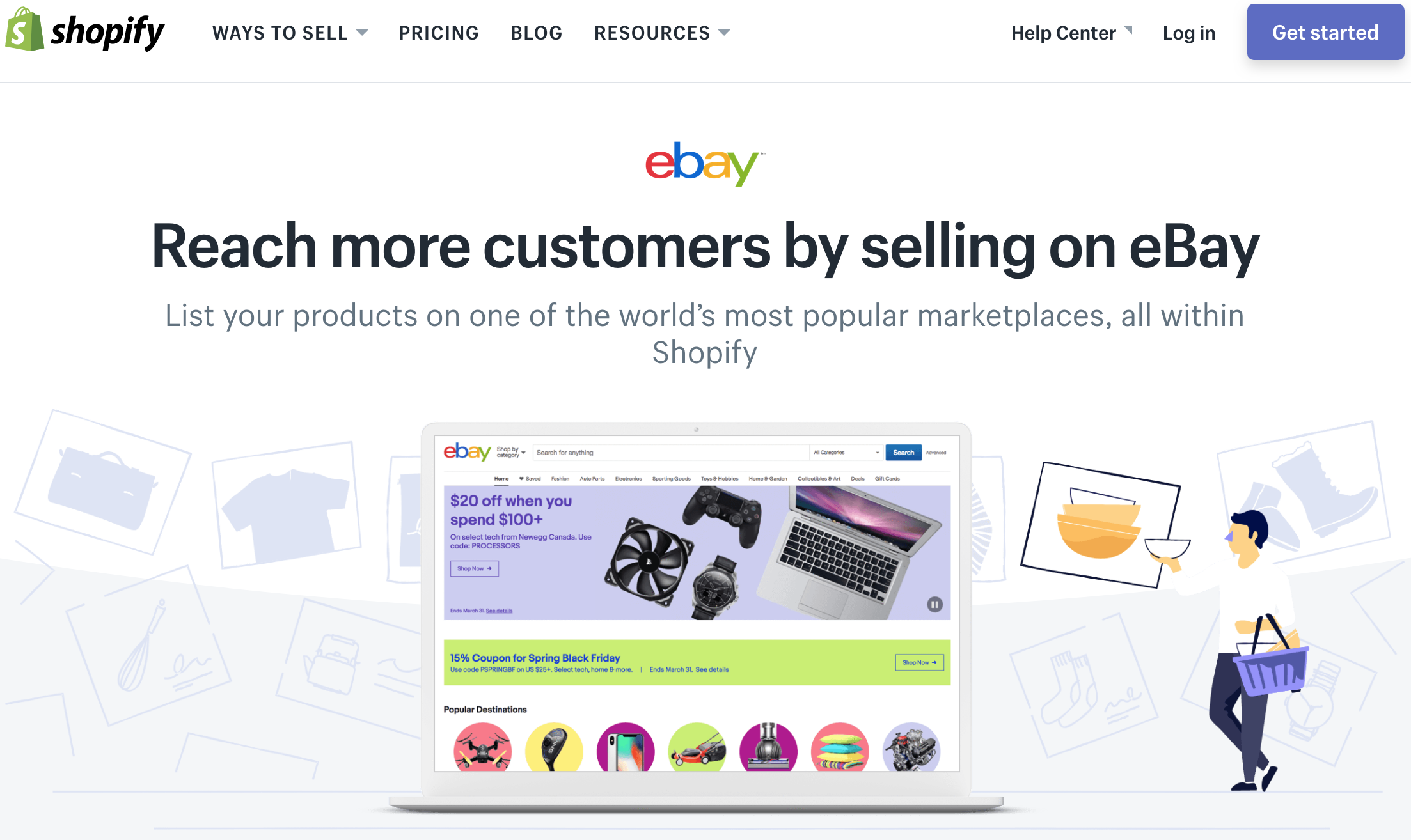 Where To Sell Online Shopify Or Ebay Uplinkly Software